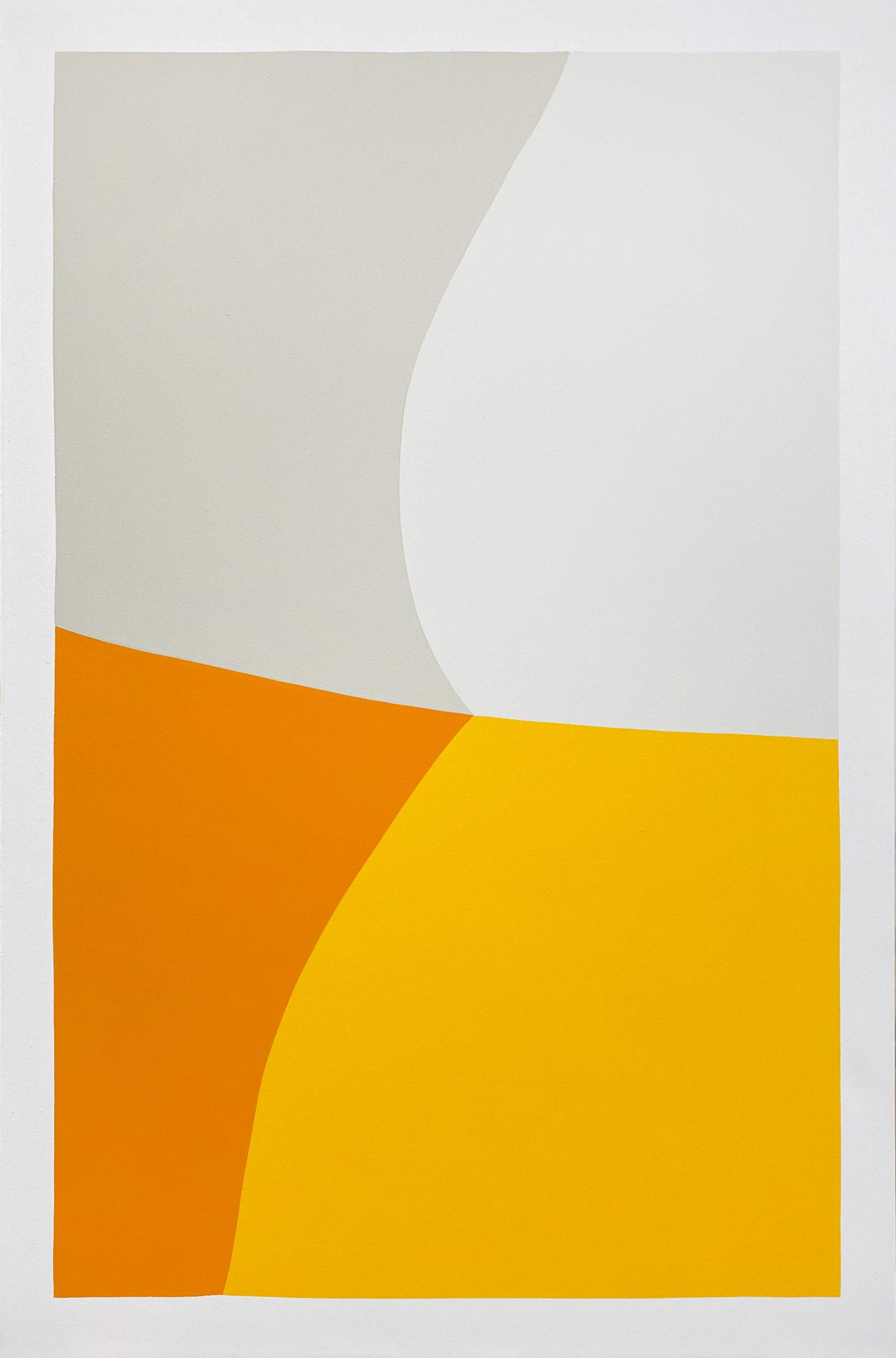 Paul Kremer Fold 1, 2020, acrylic on canvas