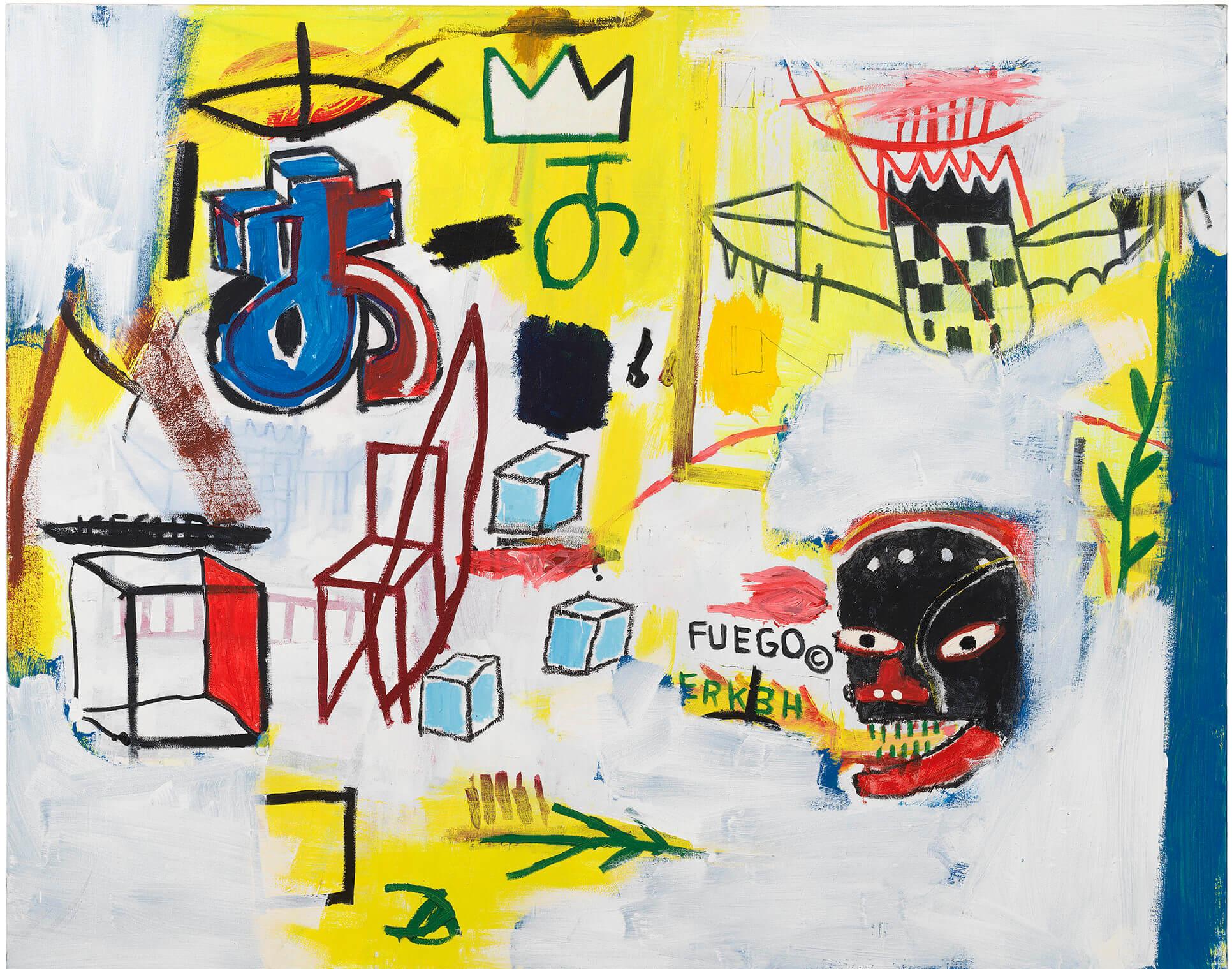 Jean-Michel Basquiat Zingest, 1984