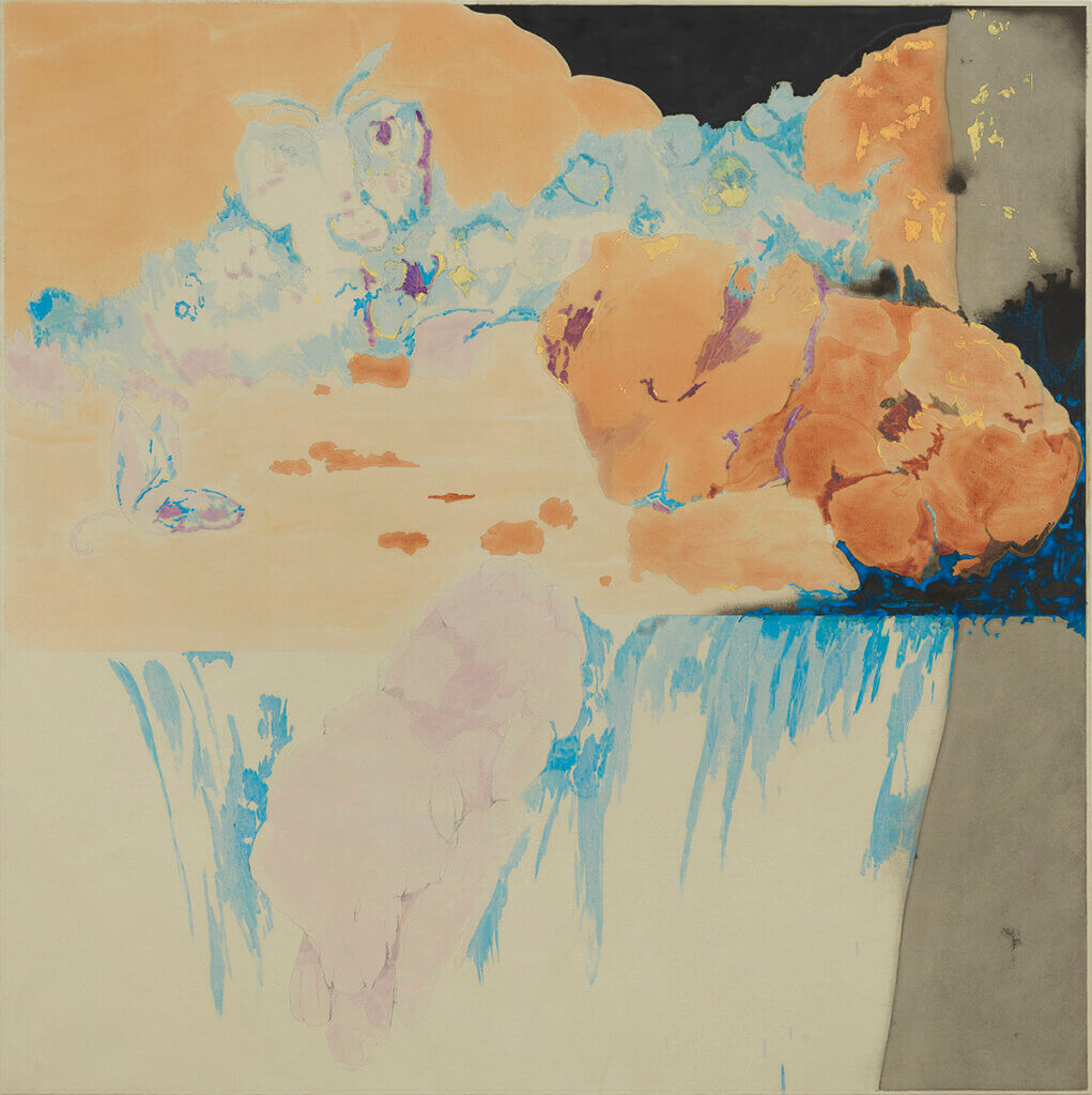 Dustin Hodges LEP_35, 2020 oil and graphite on linen 60 x 60 in. (152.4 x 152.4 cm.)