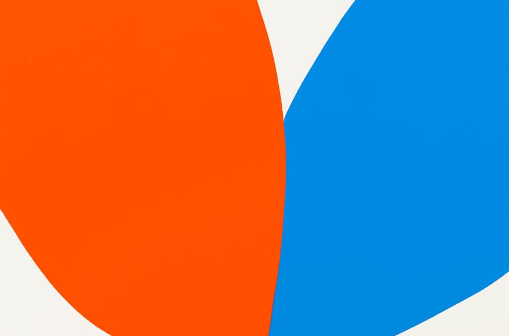 Paul Kremer Poppy 01, 2020 acrylic on canvas 40 x 60 in. (101.6 x 152.4 cm.)