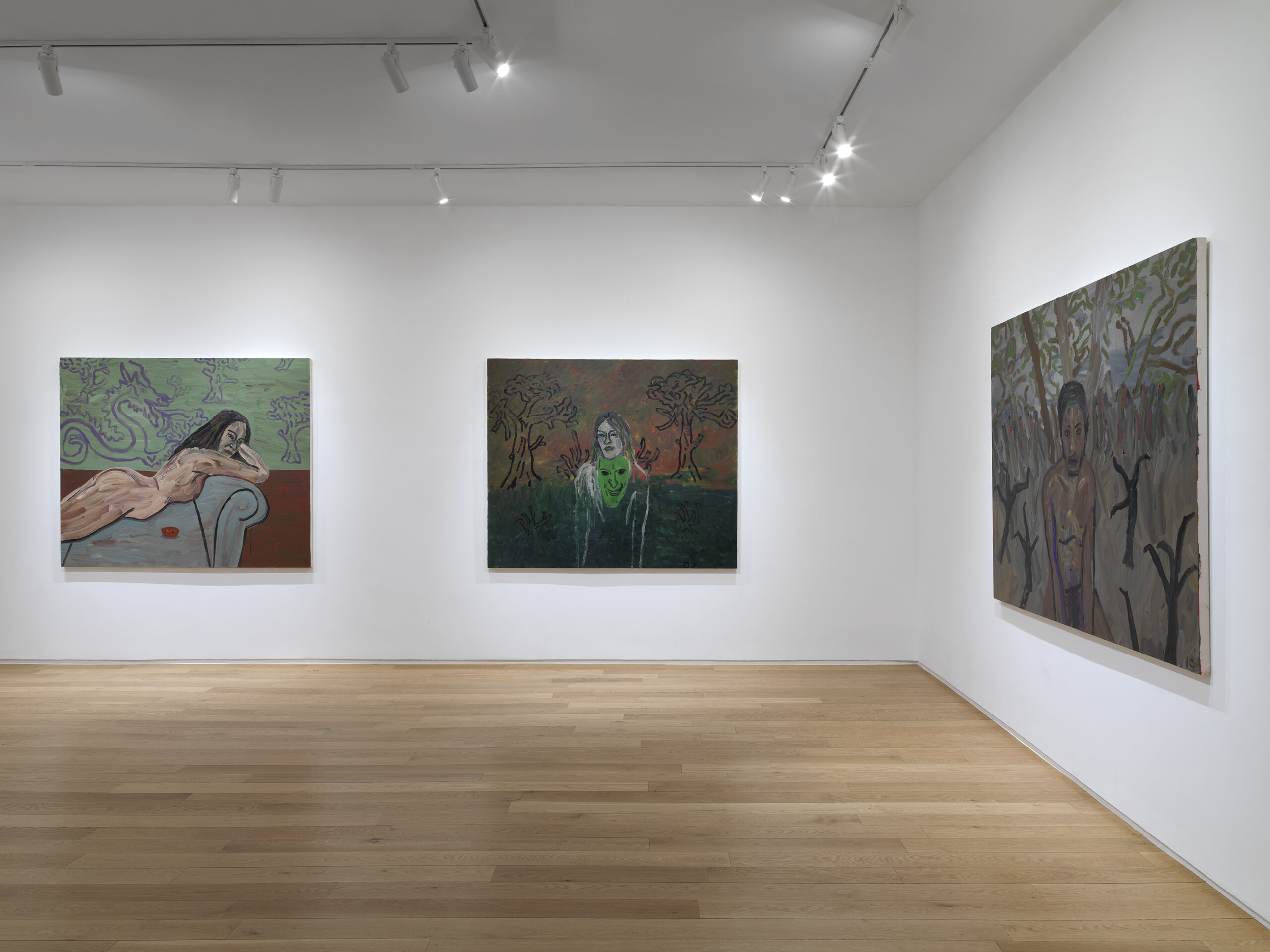 Danny Fox: The Sweet and Burning Hills at Alexander Berggruen