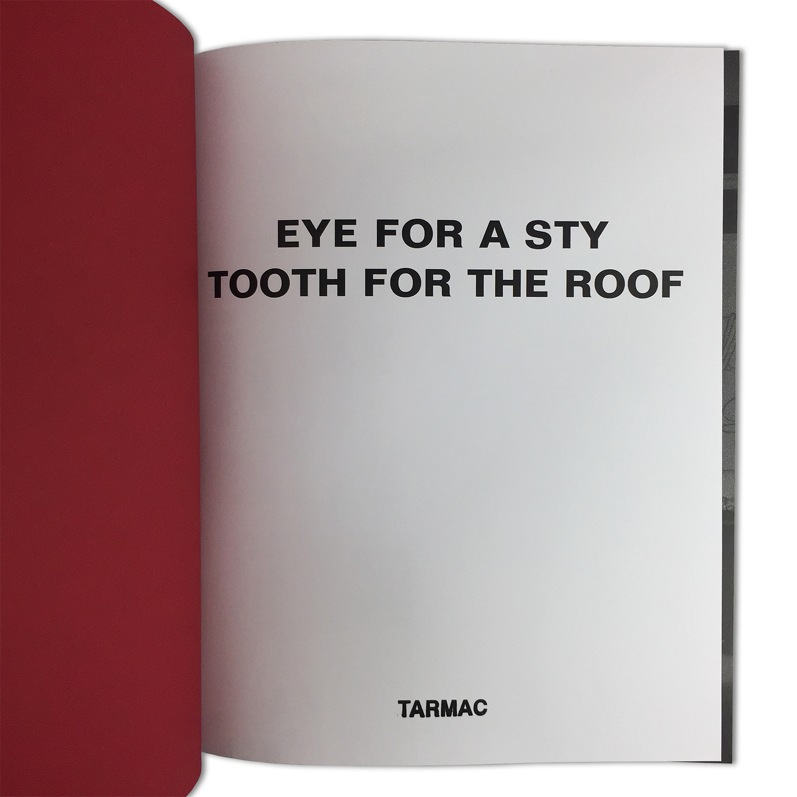 Eye For A Sty, Tooth For The Roof Danny Fox Kingsley Ifill