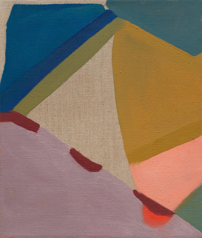 Anna Kunz Demo 3, 2021 oil on linen 13 x 11 in. (33 x 27.9 cm.)