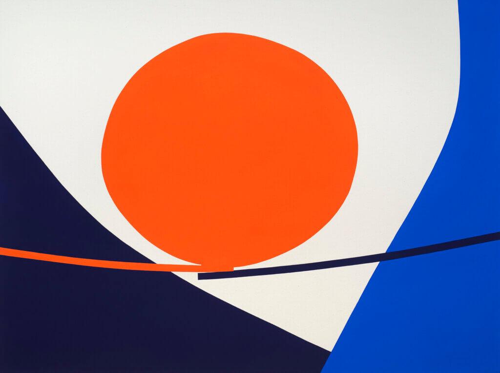 Paul Kremer Valley Bridge, 2021 acrylic on canvas 54 x 72 in. (137.2 x 182.9 cm.)