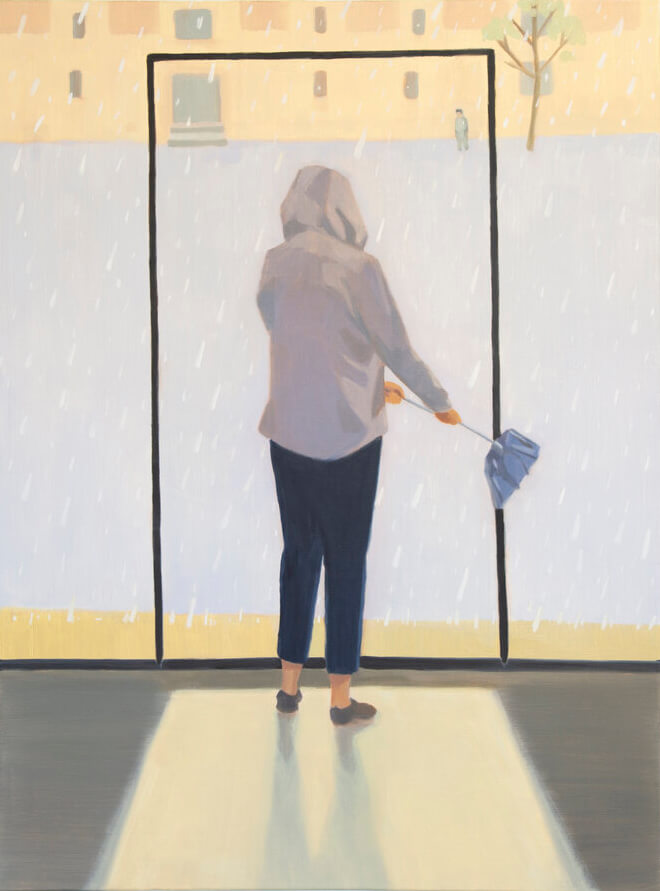 Yuri Yuan See You on the Other Side, 2020 oil on canvas 48 x 36 in. (121.9 x 91.4 cm.)