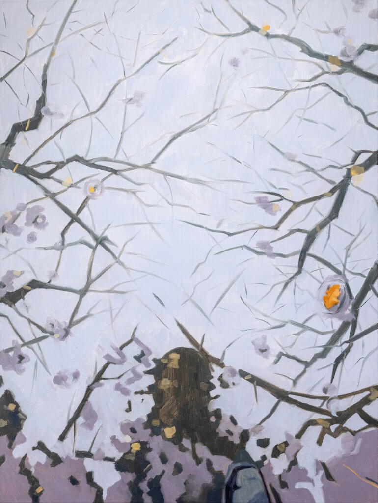Yuri Yuan Puddle, 2021 oil on canvas 48 x 36 in. (121.9 x 91.4 cm.)