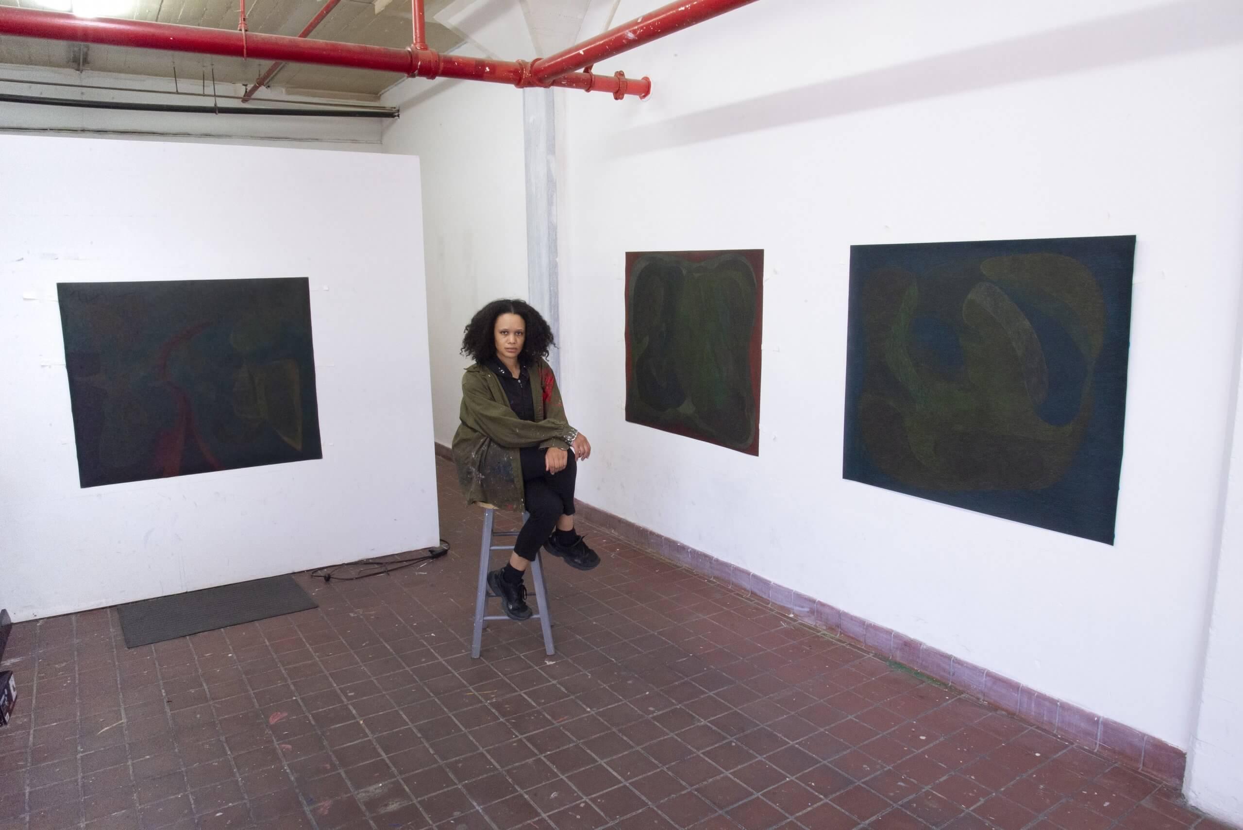 Angie Jennings at Bread & Salt Residency, San Diego, CA, 2021.