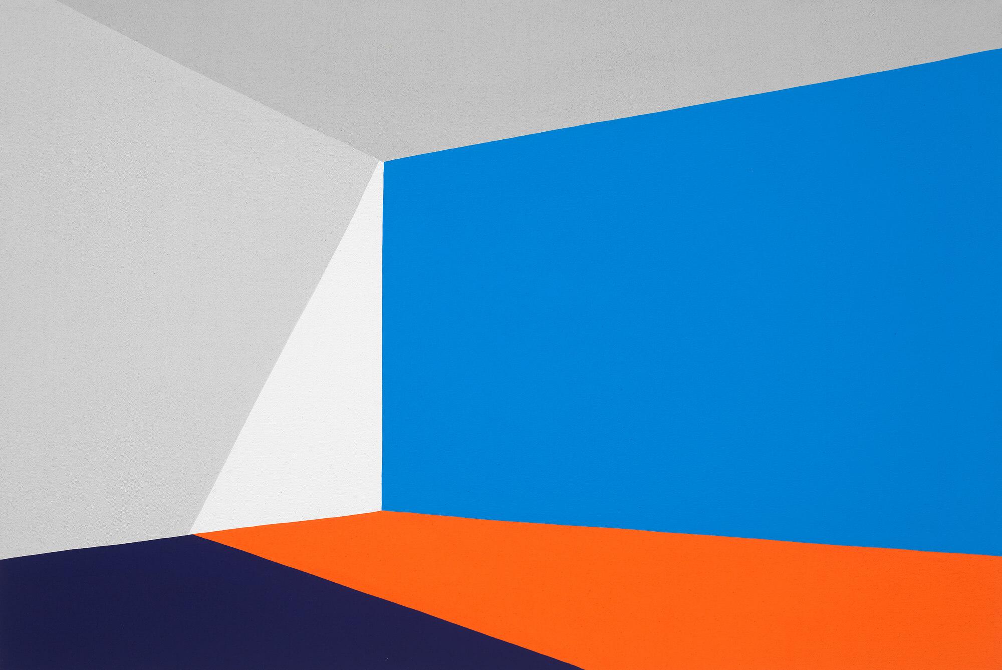 Paul Kremer Opening 06, 2021 acrylic on canvas 40 x 60 in. (101.6 x 152.4 cm.)