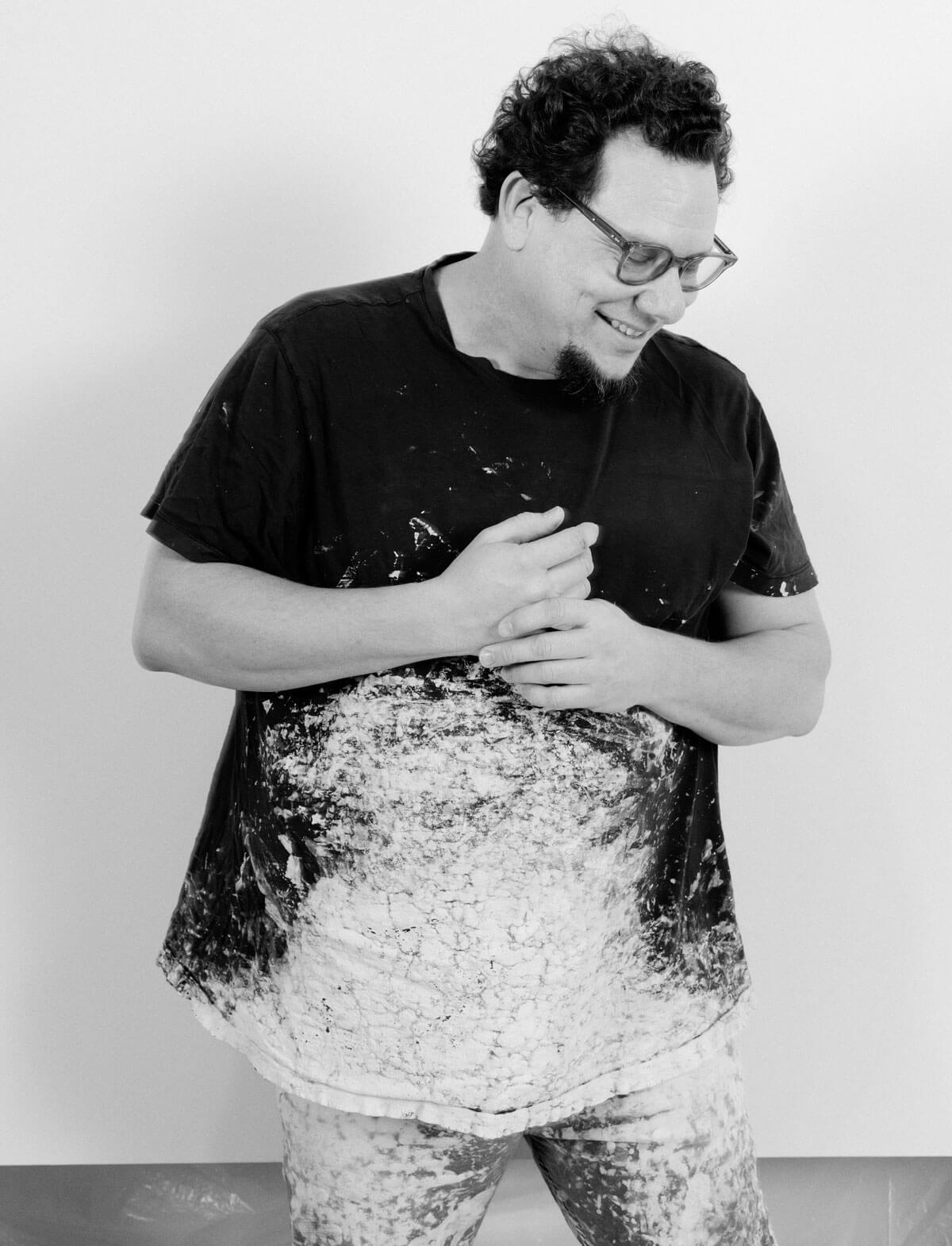 Paul Kremer in the studio