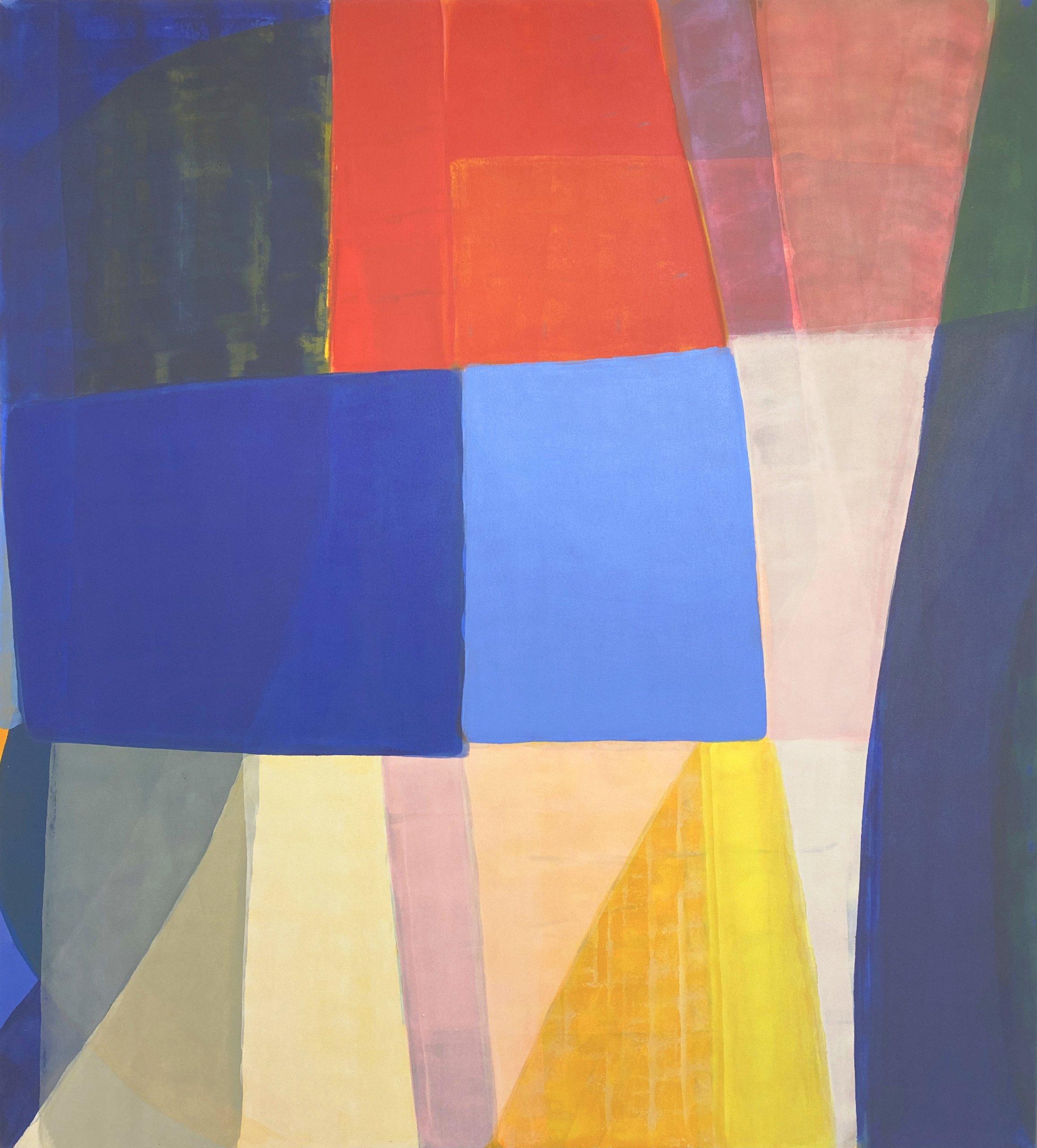 Anna Kunz Saved Hour, 2021 acrylic on canvas 66 x 60 in. (167.6 x 152.4 cm.)